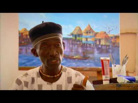 Post-war art in Liberia