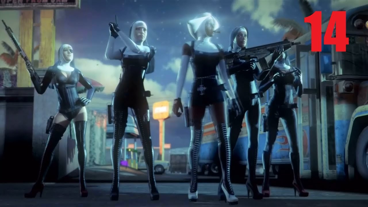 Hitman Absolution 14 Attack Of The Saints Youtube