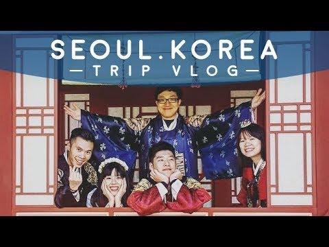 Seoul, Korea Trip Vlog | Eating, Hiking, Street Food, Hanboks
