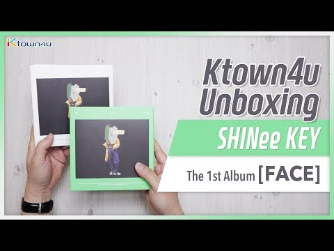 [Ktown4u Unboxing] SHINee: KEY - 1st Album [FACE] 샤이니 키 언박싱 Kpop