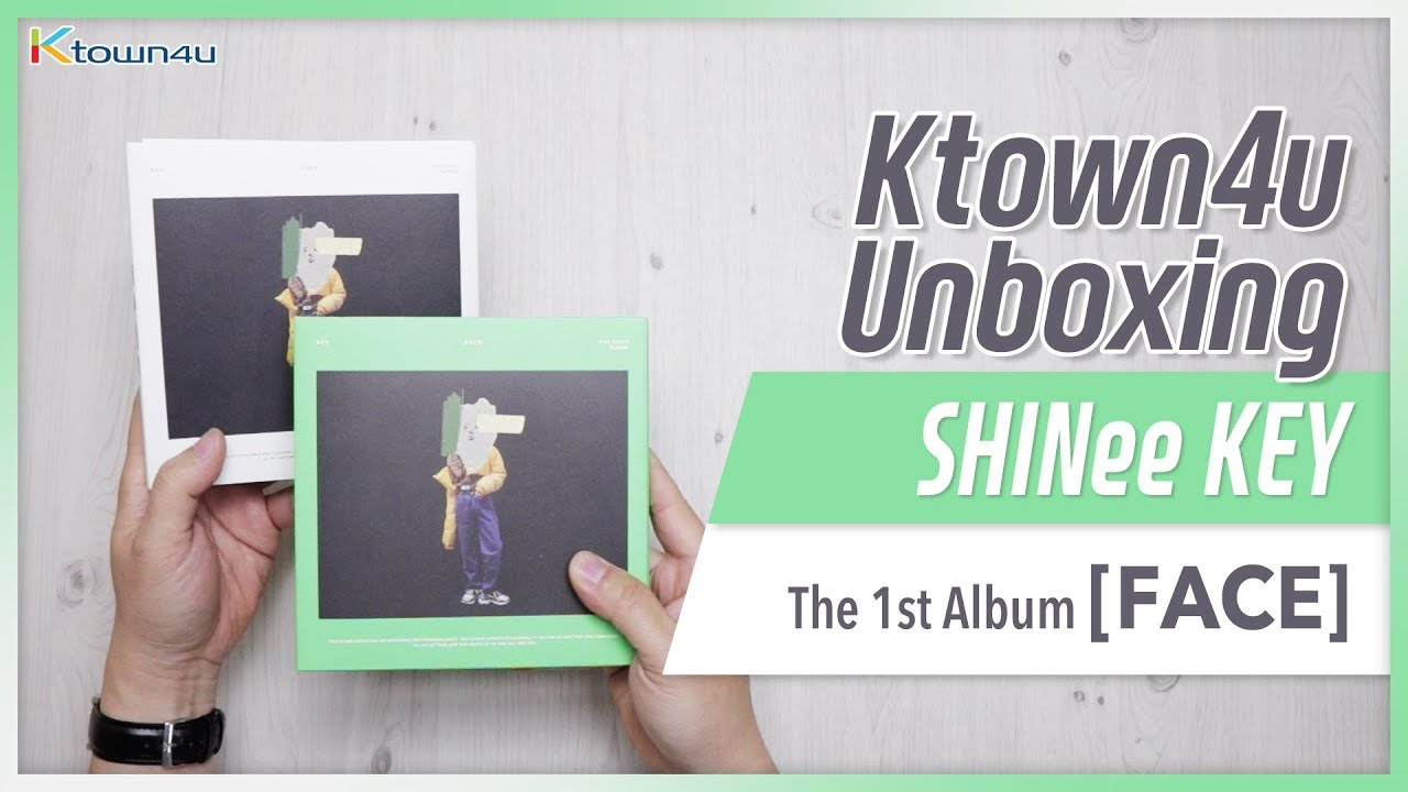 [Ktown4u Unboxing] SHINee: KEY - 1st Album [FACE] 샤이니 키 언박싱 Kpop