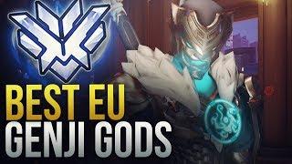 EU GENJI GODS - Overwatch Montage