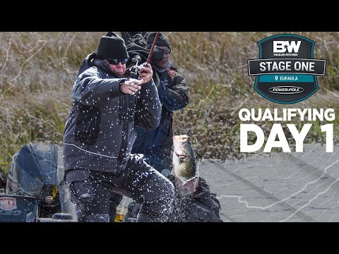 Bass Pro Tour | Stage One - Eufaula | Qualifying Day 1 Highlights