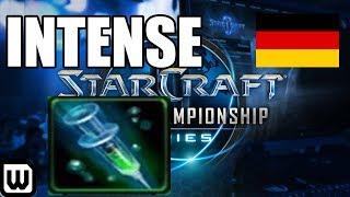Starcraft 2 WCS Esports! EPIC TERRAN vs PROTOSS! Heromarine (Big Gabe) vs Showtime (The Wall)