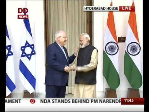 PM Modi meets Israel president Reuven Rivlin