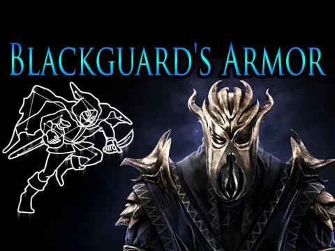Skyrim Dragonborn - Blackguard's Armor  