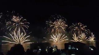 2016 New Years Eve Fireworks - Jumeirah Beach Residence Dubai