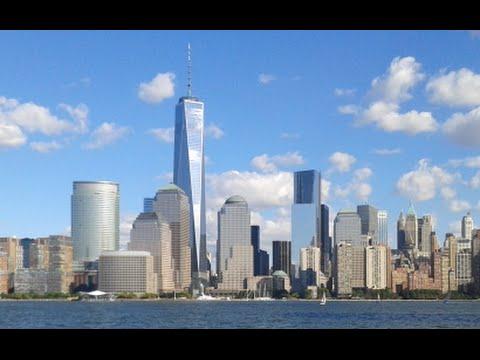 One World Trade Center in New York City: a skyscraper 1,776 feet tall