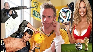 Newly created Fifa video from Frenchy SungaAttack: An Aussies Guide to the FIFA World Cup