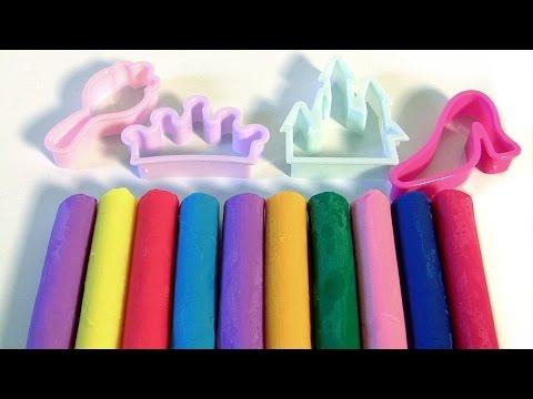 Disney Princess Dough Set Clay Sticks With Princesses Cinderella