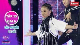 Biệt Tài Tí Hon 2|Tập 15 gala: Màn nhảy hip hop chất phát ngất của dancer nhí 8 tuổi