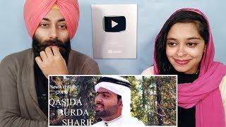Indian Reaction on Maula Ya Salli Wasallim in 4 language   Qaseeda Burdah ft. PunjabiReel TV
