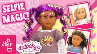 SELFIE MAGIC & Bestie Back To School Styles Mash Up   Dolled Up @American Girl