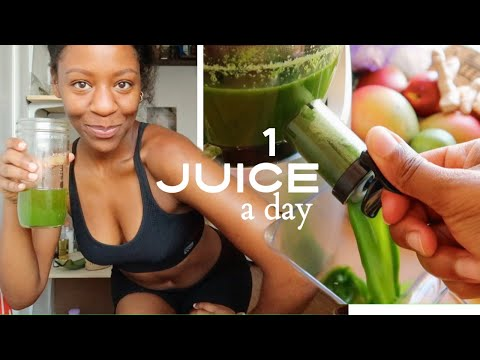 I DRANK RAW Vegetable Fruit JUICE for 6 DAYS & this happened