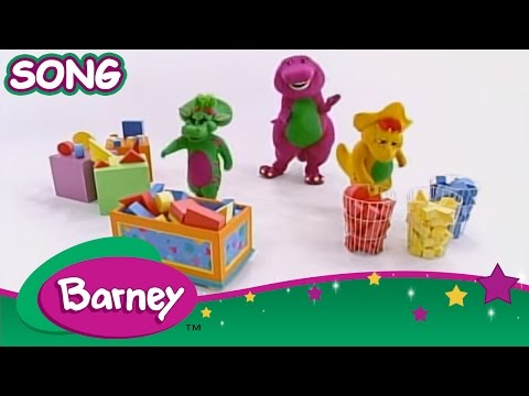 Barney shapes and colors youtube