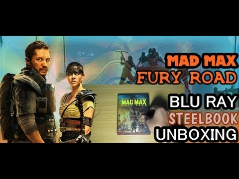 Mad Max Fury Road Blu Ray Steelbook Unboxing Youtube