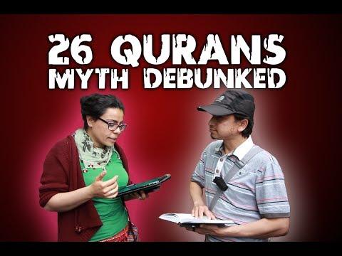 26 Qurans Myth Debunked - Mansur Ahmad vs Hatun | Speakers Corner