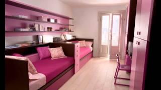 Beautiful Pink kid girl bedroom decorating ideas