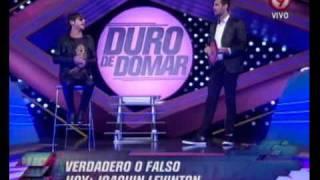 Duro de Domar - Verdadero / Falso: Joaquín Levinton (1ra parte) 17-02-12