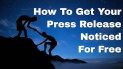 Press Release Distribution Services - Free - Pay What You Want