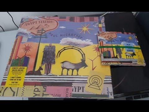 Paul McCartney - Egypt Station Deluxe/Target CD unboxing ...