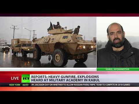 Military University Under Attack In Kabul