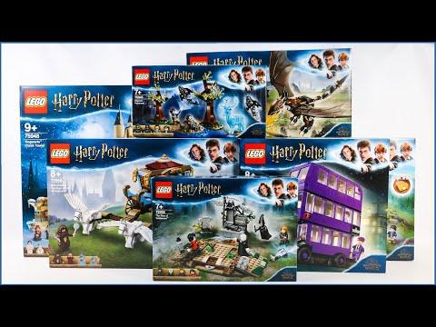 ALL LEGO HARRY POTTER 2019 SETS COMPILATION
