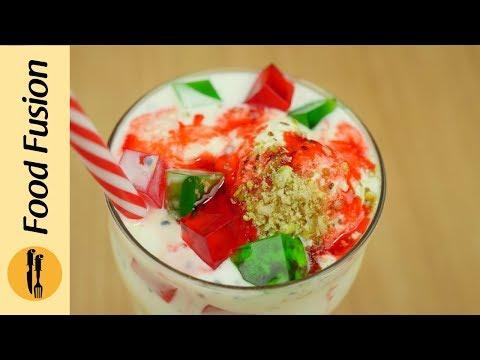 Ice cream Falooda Recipe by Food Fusion