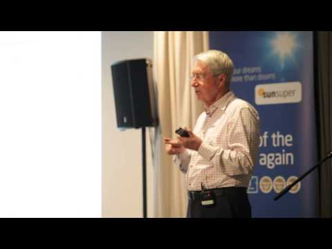 Noel Whittaker gives Super Advice - Sunsuper Superannuation - Noosa Chamber of Commerce and Industry