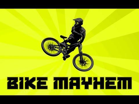 Bike Mayhem Extreme Mountain Racing Trailer