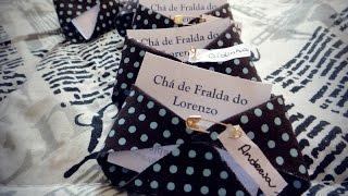 Convite Chá de Fraldas por Infinitas Possibilidades