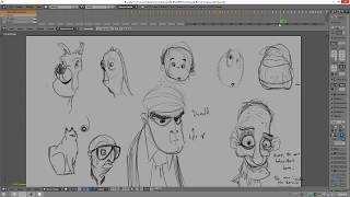 Sketching in Blender - Grease Pencil