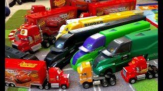 Disney Cars 3 Next Gen Hauler - HOW was the factory custom hauler MADE? Shiny wax & Hj hollis