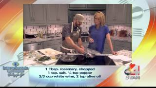 Live Well Recipe: Herb Roasted Pork Loin With Orange Marmalade And Chard