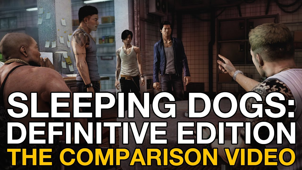 Sleeping dogs definitive edition ps4 xbox 360 gameplay comparison videogamer youtube