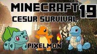 Minecraft CESUR Survival - Enes ve Yiğit - Bölüm 19 - Pixelmon