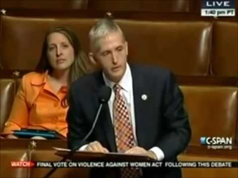 SHOCKING Introduction To Congressman Trey Gowdy!
