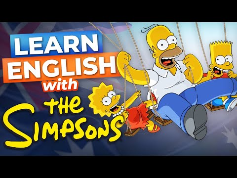 The Simpsons Go To Australia | Learn English with TV Series