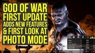 God of War Update 1.10 Adds New Features + First Photo Mode Gameplay (God of War 4 Update 1.10)