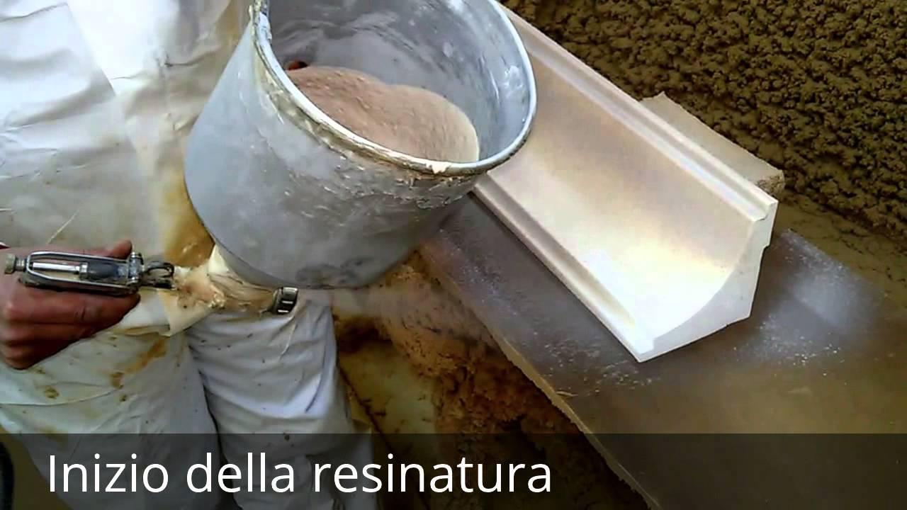 Produzione e resinatura di cornici in polistirolo per esterno youtube - Cornici finestre in polistirolo ...