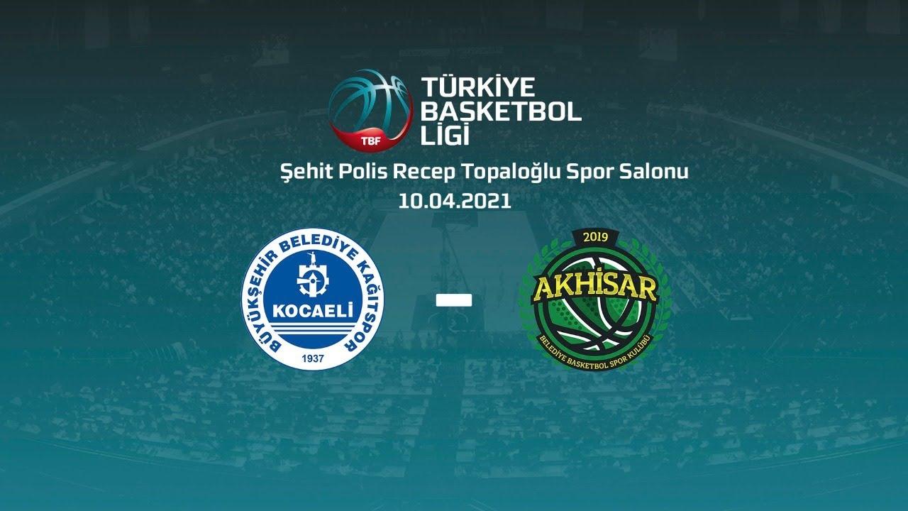 Kocaeli BŞB Kağıtspor – Akhisar Belediye Basketbol TBL 26.Hafta