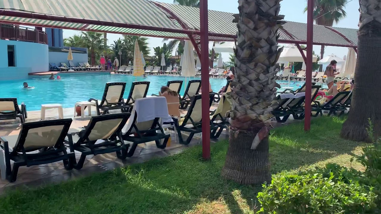 Бассейн отеля Oz hotels Incekum! Турция