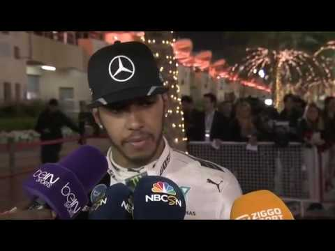 2016 Bahrain Post Qualifying: Lewis Hamilton wants to battle with Ferrari in Bahrain Grand