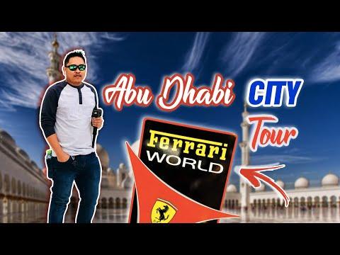 Abu Dhabi City Tour  | Ferrari World | Sheikh Zayed Grand Mosque | Louvre Museum | Dubai Last Exit