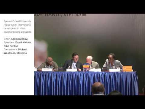 TIS Conference - Oxford University Press event: International development