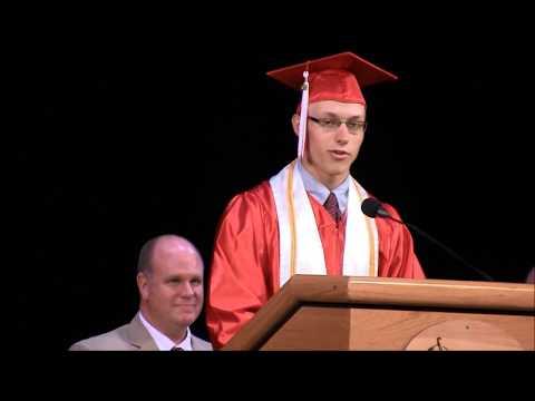 "Bloomsburg Area High School Graduation 2014 - Evan Ball Speech ""Knock, Knock..."""