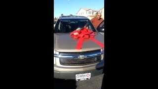 Surprising my Mom and Dad with a car this Christmas 2013