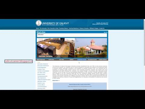 calicut-university-result-2017---how-to-check