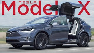 The 2020 Tesla Model X Pretty Much Drives Itself (kind Of)