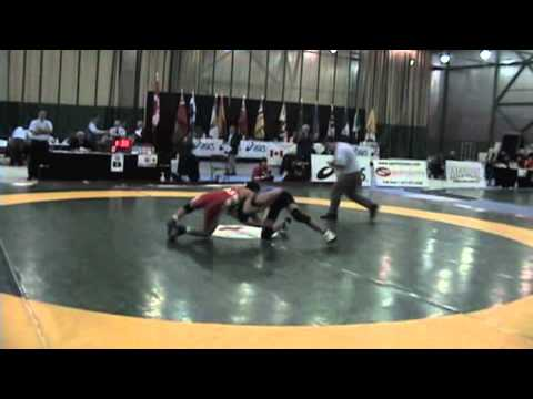 2009 Junior National Championships: 50 kg Greco Steven Takahashi vs. Rehan Merchant